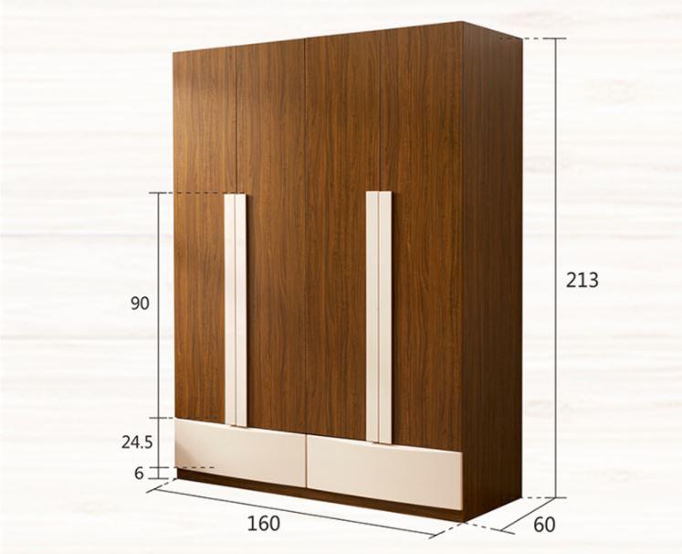 Bản vẽ thiết kế tủ quần áo