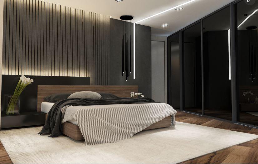 Giường ngủ đẹp bằng gỗ MS 514 MM