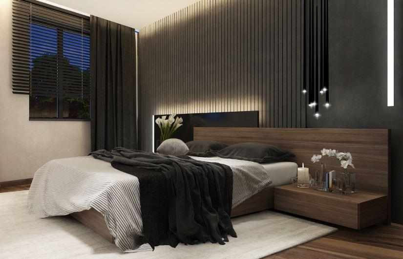 Mẫu giường ngủ kiểu nhật bằng gỗ đẹp đơn giản
