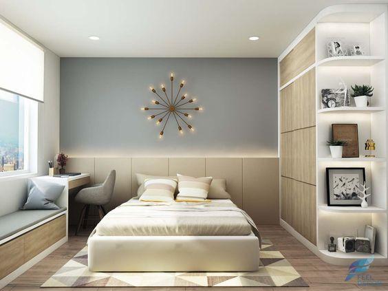 Thiết kế Nội Thất Phòng Ngủ đẹp đơn giản