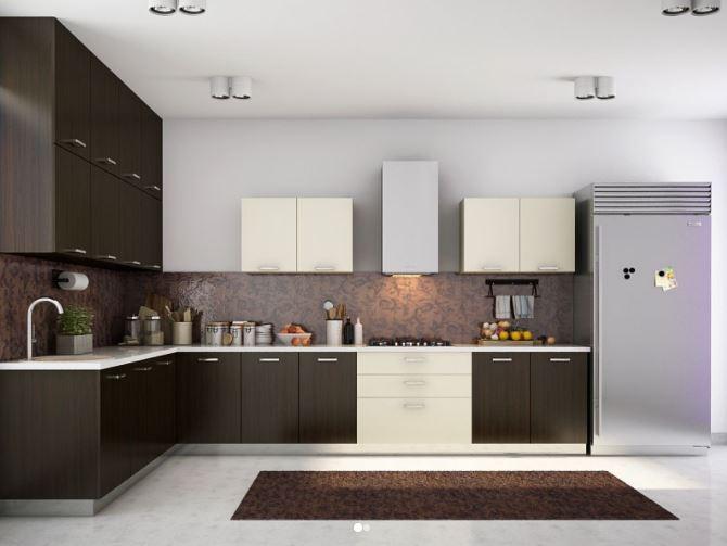 Tủ bếp gỗ Veneer Xoan Đào 3