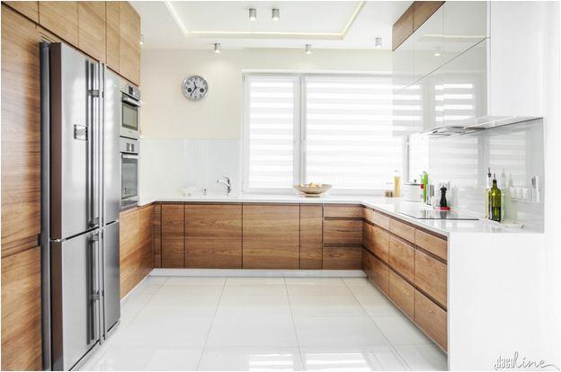 Tủ Bếp Gỗ Veneer Giá Rẻ