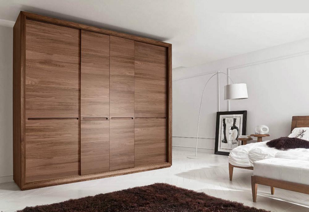 tủ quần áo gỗ veneer xoan đào