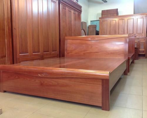 Kết quả hình ảnh cho giường ngủ gỗ xoan đào
