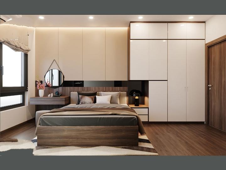 Bộ Phòng Ngủ An Cường Giá Rẻ - Thiết Kế Phòng Ngủ Gỗ An Cường