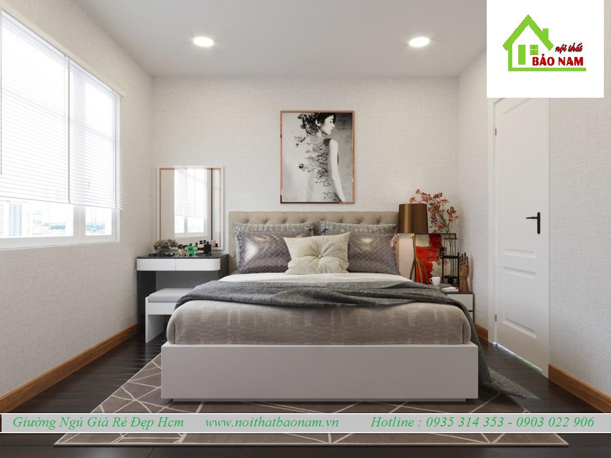 Giường Ngủ Giá Rẻ Đẹp Hcm