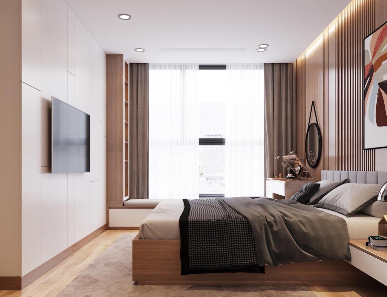 Giường Ngủ Gỗ An Cường Đẹp HCM - Thi Công Giường Ngủ Gỗ An Cường
