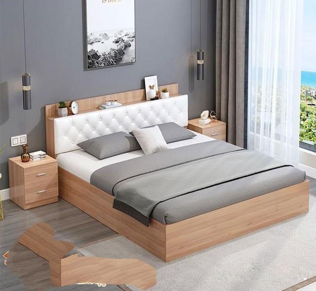Giường Ngủ Gỗ Công Nghiệp Tại Thủ Đức - Đóng Giường Ngủ Giá Rẻ HCM