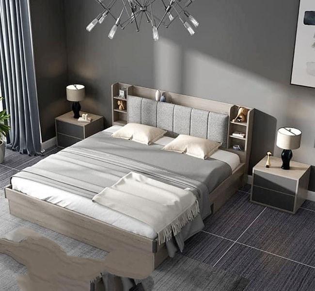 Giường Ngủ Rẻ Đẹp Hiện Đại HCM - Giường Ngủ Hiện Đại Công Nghiệp HCM
