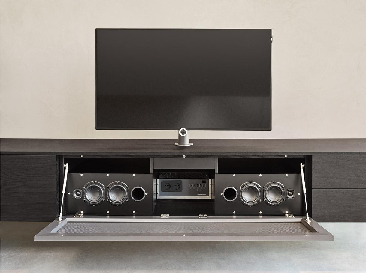 Kệ TiVi Giá Rẻ Gỗ An Cường