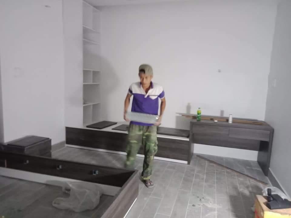Thi Công Nội Thất Căn Hộ Đẹp Hiện Đại Chị Kim Chi - Tân Phú