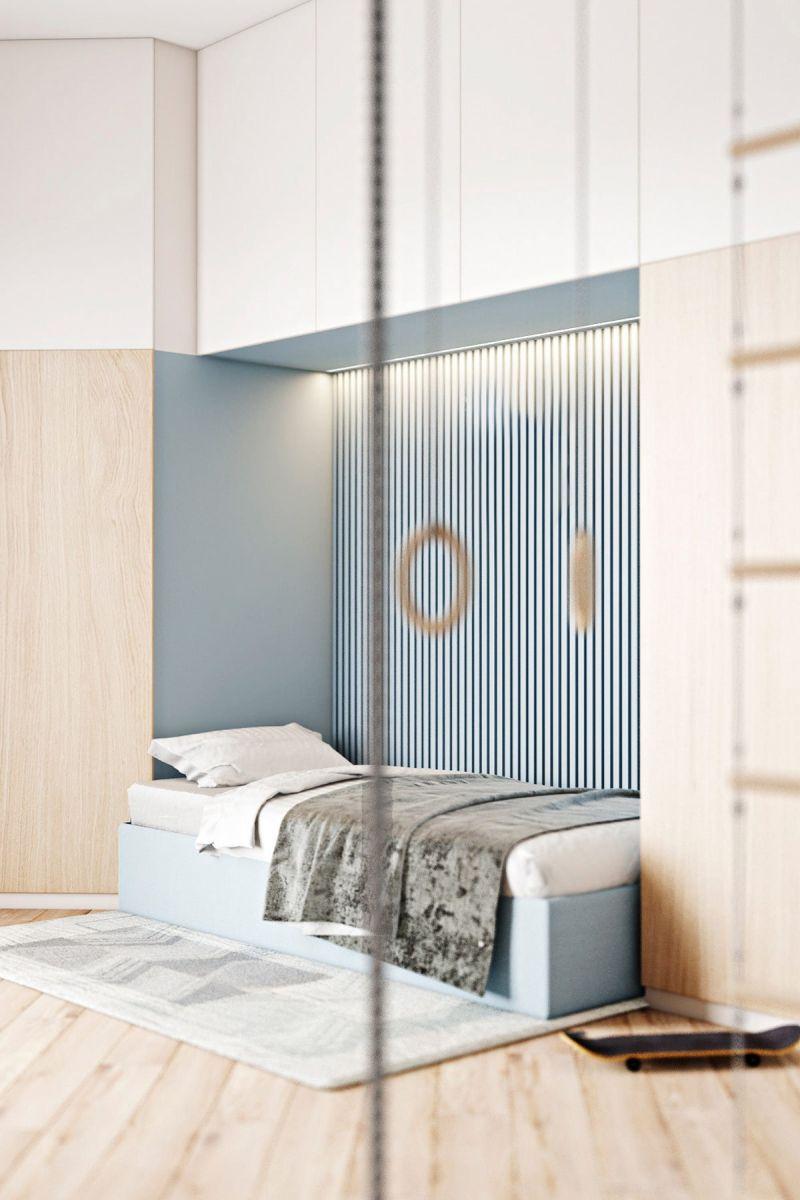 Thiết Kế Căn Hộ Chung Cư 70m2 3 Phòng Ngủ