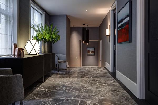 Thiết kế nội thất căn hộ chung cư cao cấp.