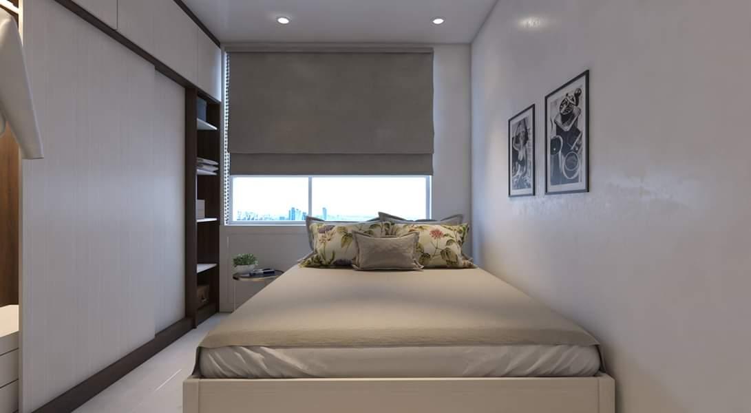 - Phối cảnh nội thất phòng ngủ bé trai căn hộ Wilton Tower Chị Yến - Bình Thạnh