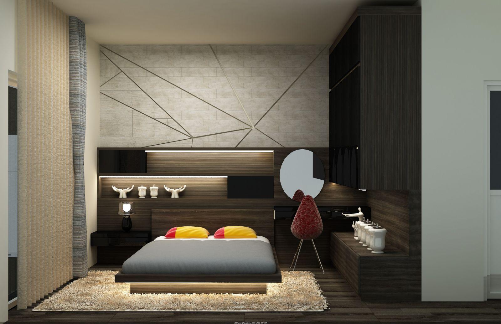 Thiết kế - thi công nội thất căn hộ chung cư Melody Âu Cơ