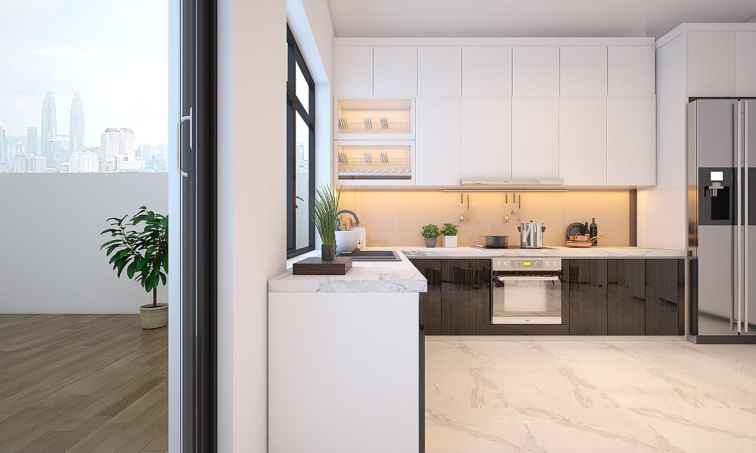 Thiết kế nội thất nhà phố đẹp hiện đại | Anh Trường, Thủ Đức