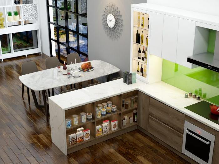 Thiết kế thi công nội thất nhà ở Cô Tuyết Nga, Q.Bình Thạnh