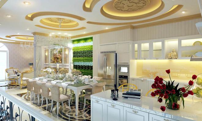 Thiết kế nội thất căn hộ theo phong cách tân cổ điển - Chủ đầu tư Chị Hằng