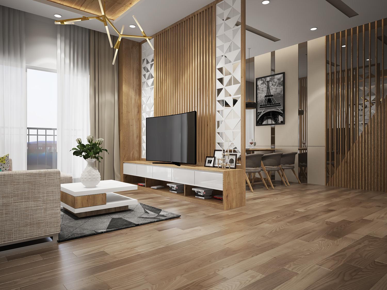 Thiết kế thi công nội thất căn hộ chung cư Richstar - Tân Phú