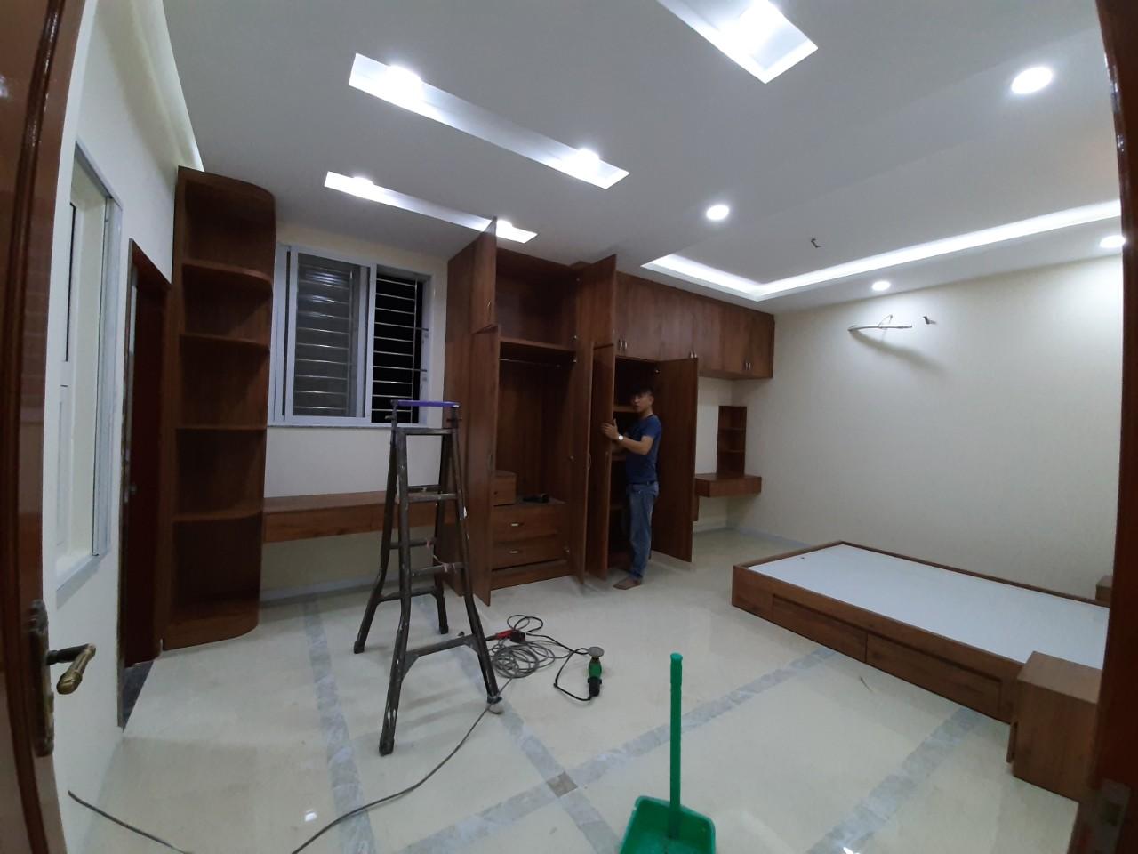 Thiết kế thi công nội thất nhà đẹp hiện đại chị Tám - Tp. Tân An