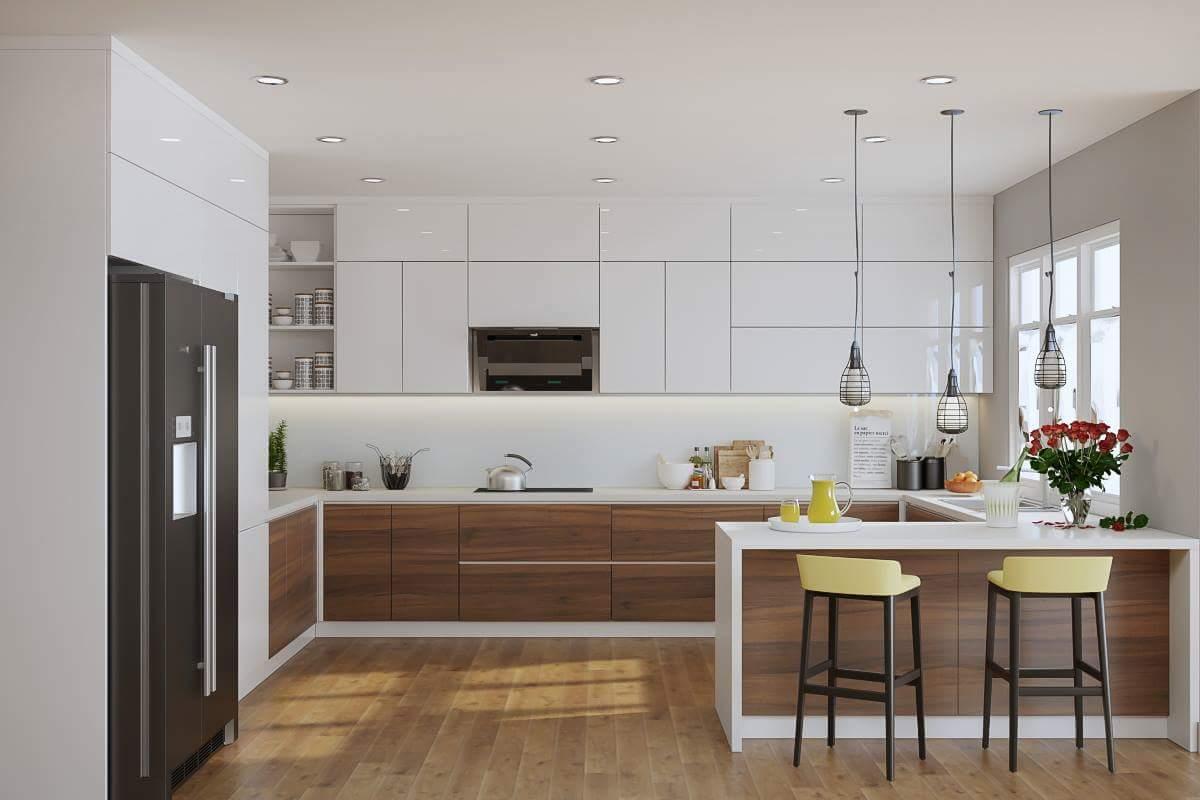 Tủ Bếp Acrylic Đẹp Giá Rẻ Hcm