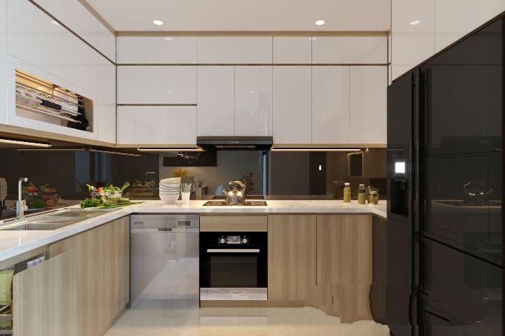 Tủ Bếp Công Nghiệp Giá Rẻ Tại Thủ Đức - Đóng Tủ Bếp Theo Yêu Cầu