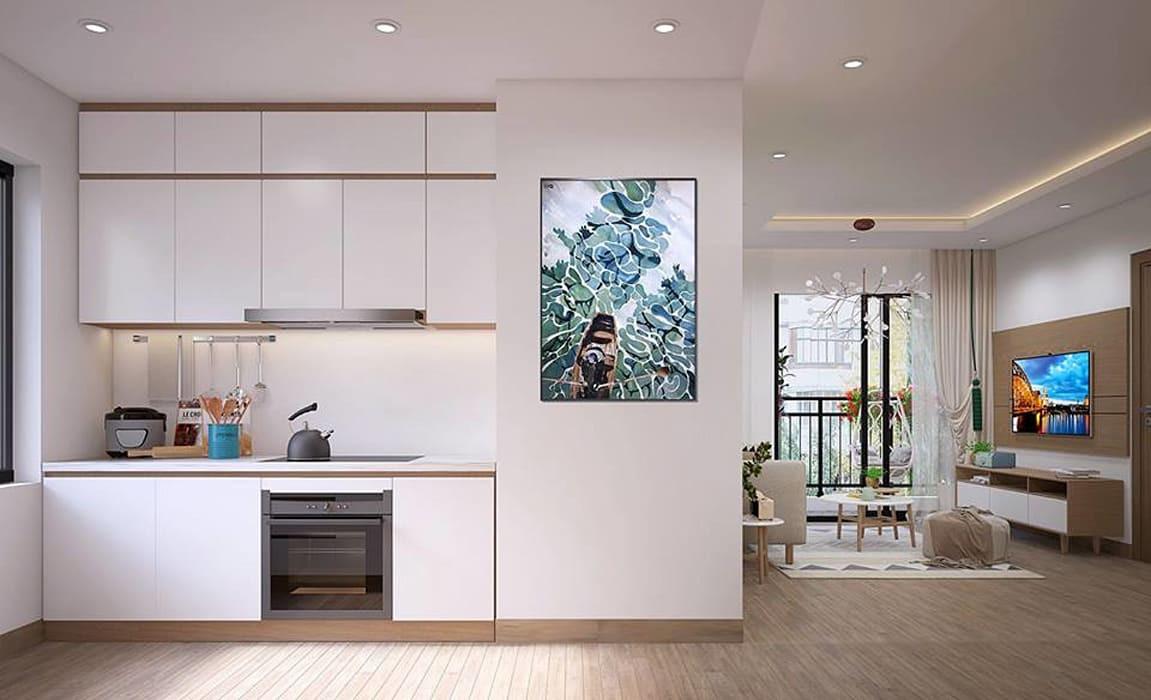 Tủ Bếp Đẹp Giá Rẻ Hiện Đại Tại HCM - Tủ Bếp Gỗ Công Nghiệp