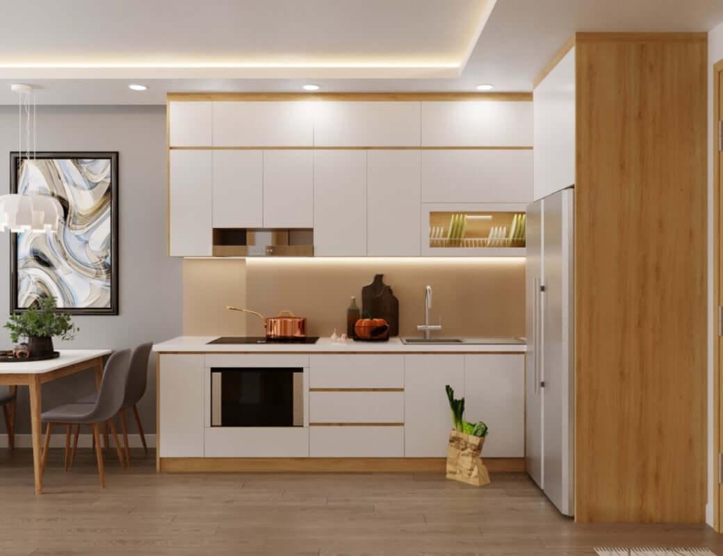 Tủ Bếp Gỗ Giá Rẻ Tại TP.HCM