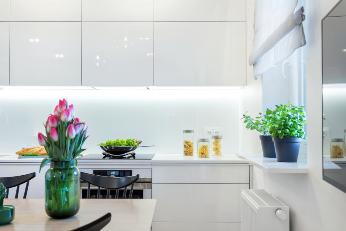Tủ bếp Gỗ Acrylic Đẹp Giá Rẻ Tp.Hcm
