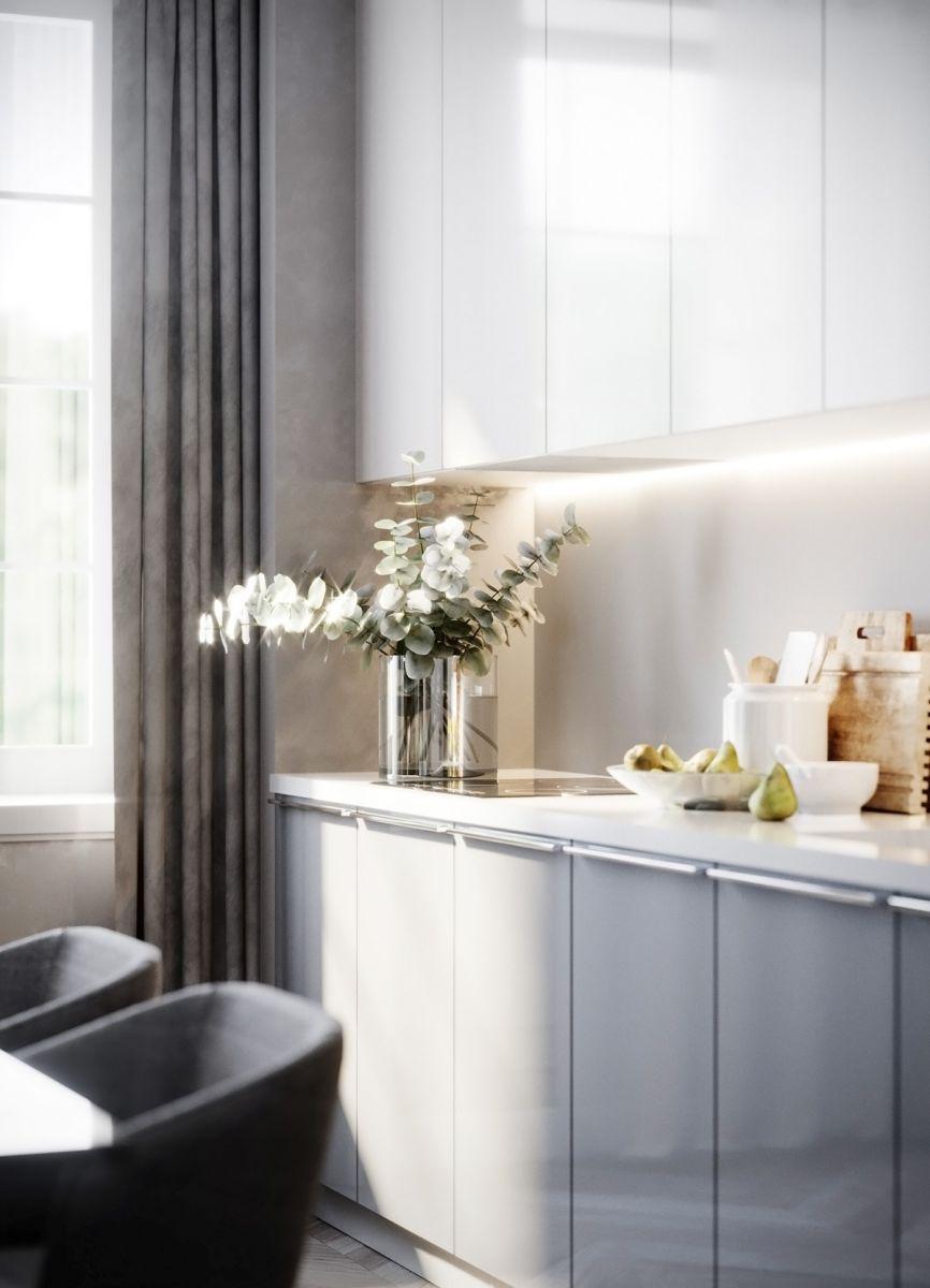 Tủ Bếp Gỗ Acrylic Đẹp Tp.Hcm