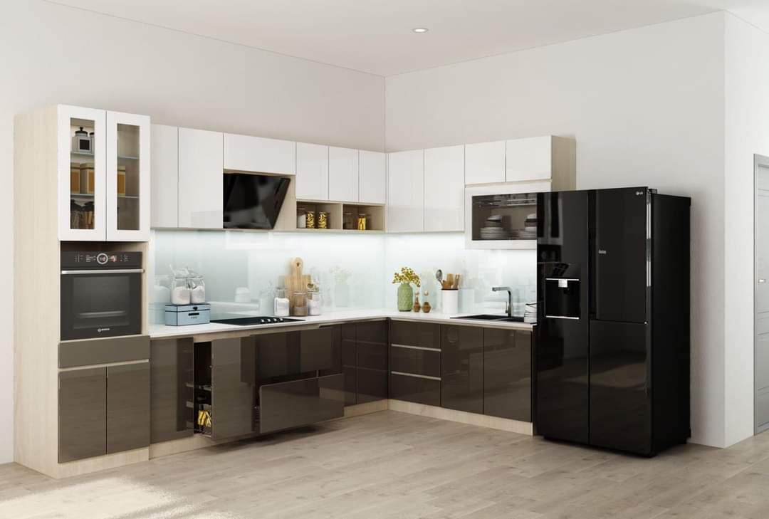 Tủ Bếp Gỗ An Cường Đẹp Tp.Hcm