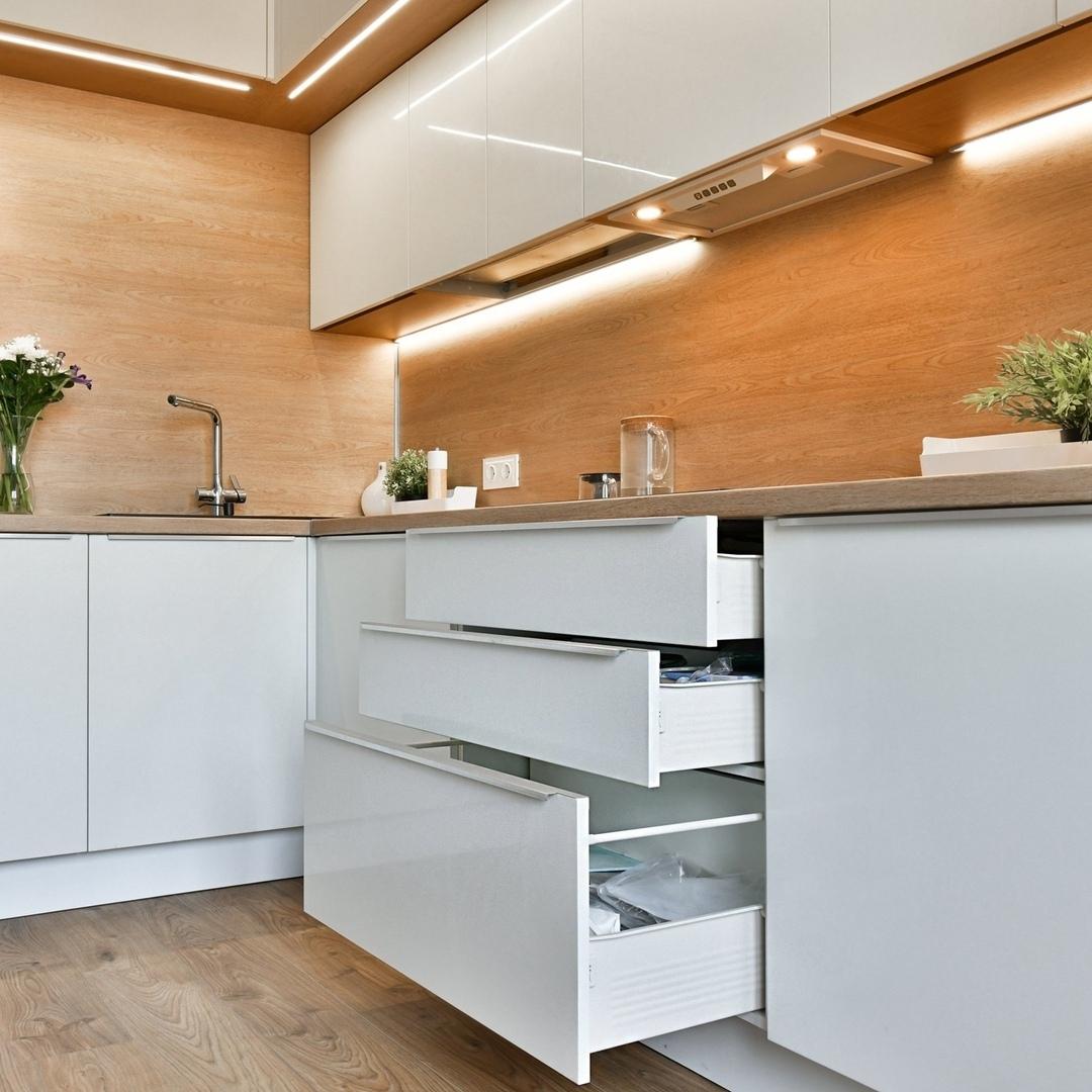 Tủ Bếp Gỗ Công Nghiệp Đẹp Giá Rẻ