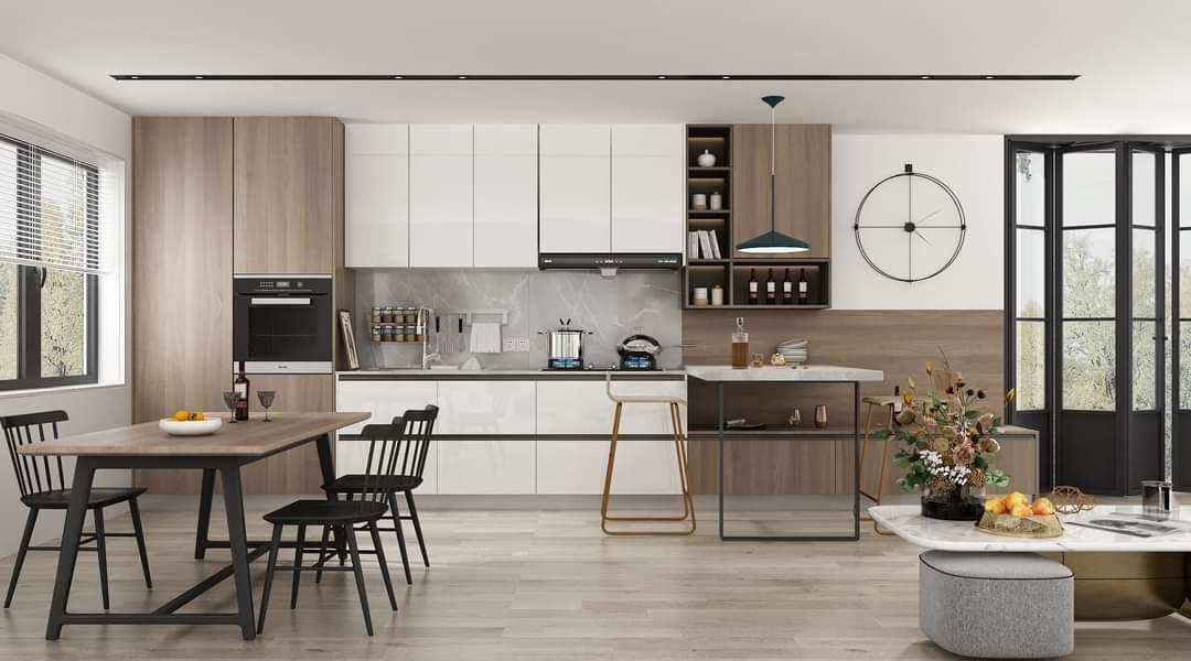 Tủ Bếp Gỗ Giá Rẻ Đẹp Tại Thủ Đức