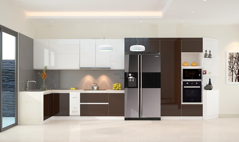 Tủ Bếp Gỗ Giá Rẻ Hcm