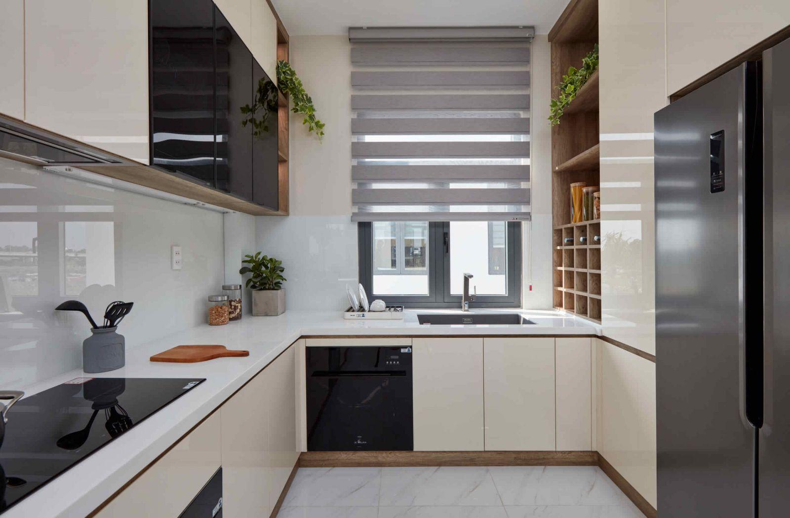 Tủ Bếp Gỗ Hiện Đại Giá Rẻ Thủ Đức