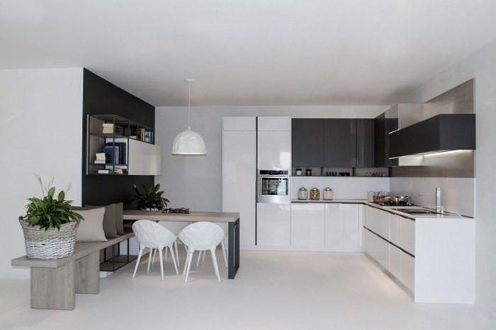 Tủ Bếp Hiện Đại Giá Rẻ Đẹp Tại HCM - Đóng Tủ Bếp Theo Yêu Cầu