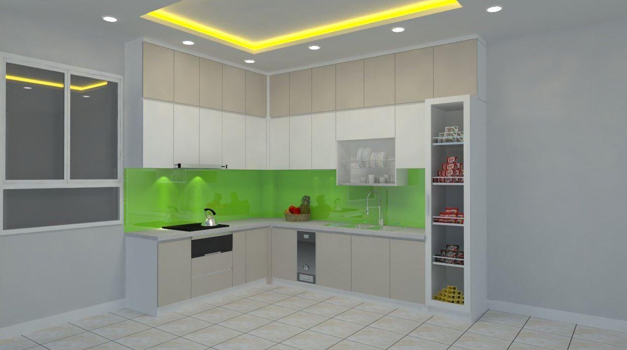 Tủ Bếp Laminate Đẹp Giá Rẻ