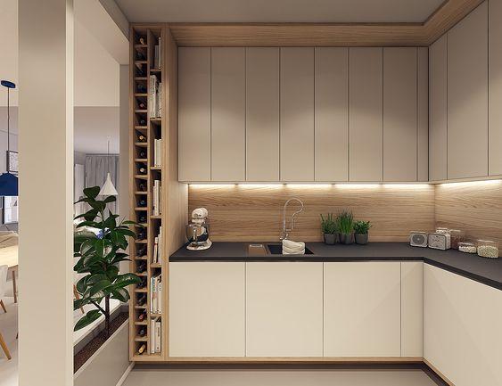 Tủ Bếp Melamine Đẹp Giá Rẻ
