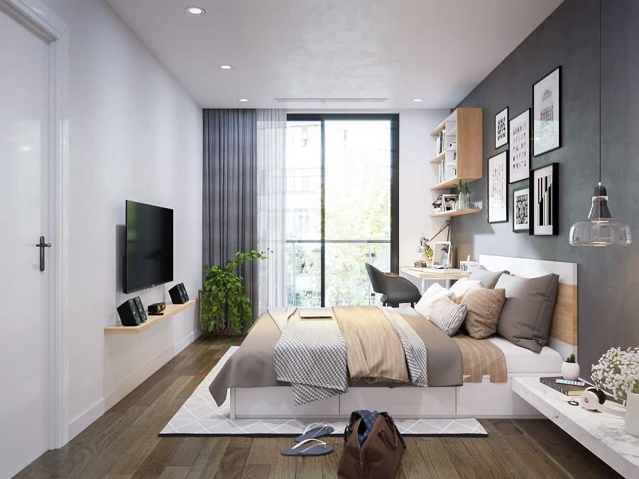 Tủ Quần Áo Đẹp Và Giường Ngủ Hiện Đại