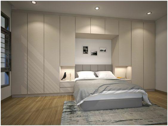 Giường ngủ kết hợp với Tủ quần áo đẹp hiện đại