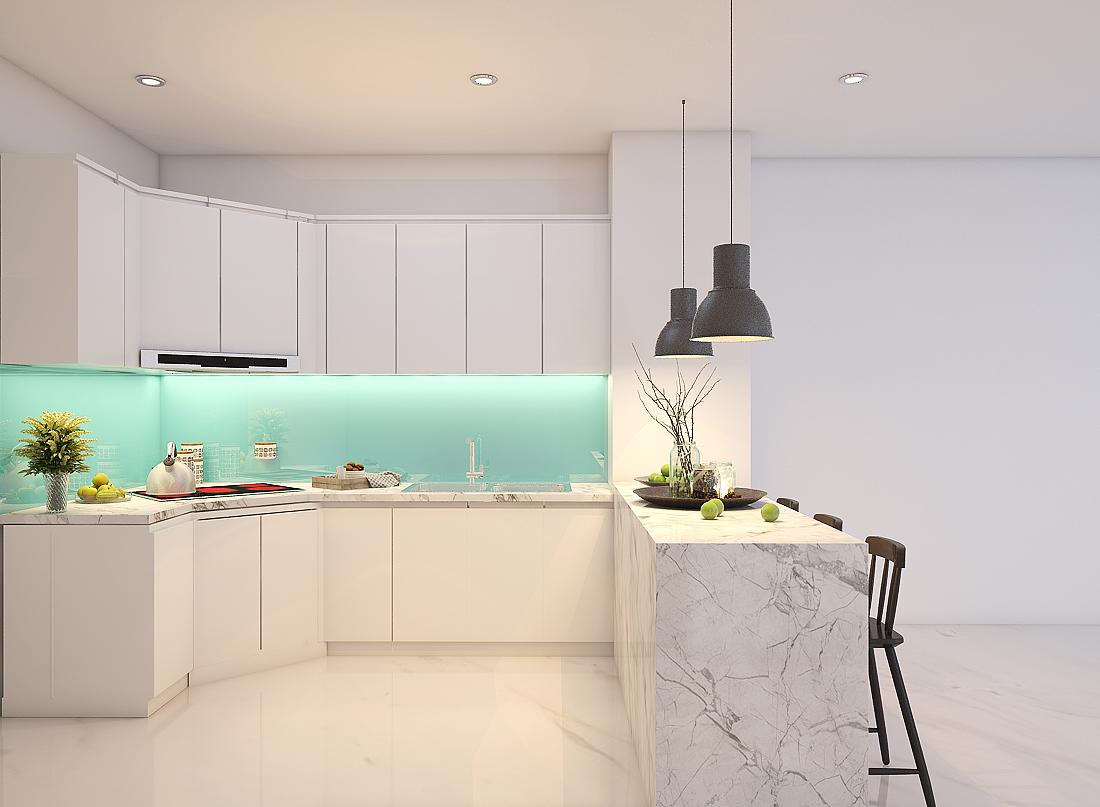 Tủ Bếp Đẹp Hiện Đại Tp.Hcm | Thi Công Tủ Bếp Giá Xưởng